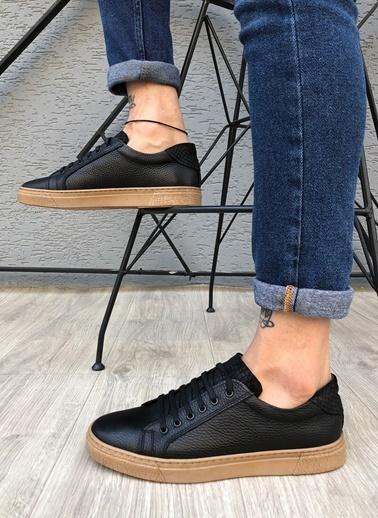MUWAGO Hakiki Deri Sneakers Siyah